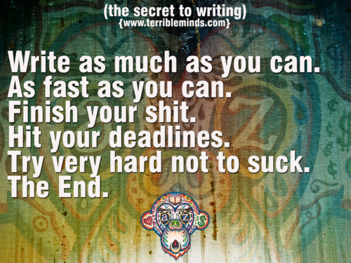 Secrets to writing